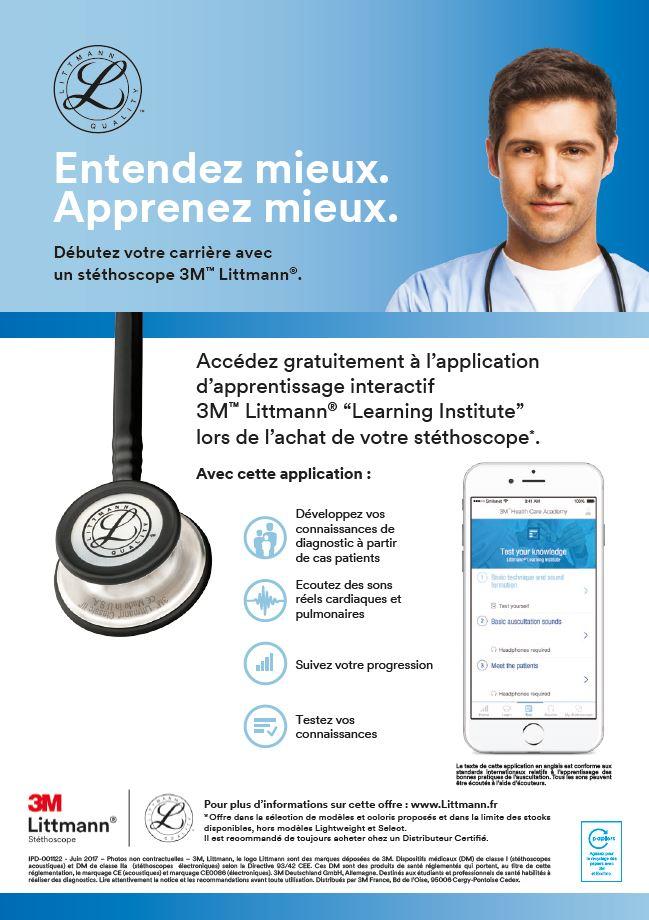 Stéthoscope performant pour les étudiants en médecine