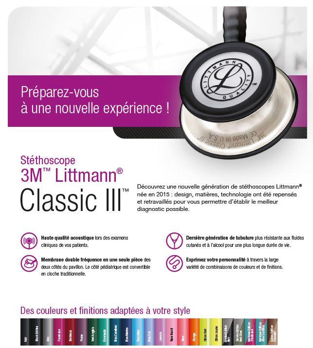 stathoscope Littmann Classic III